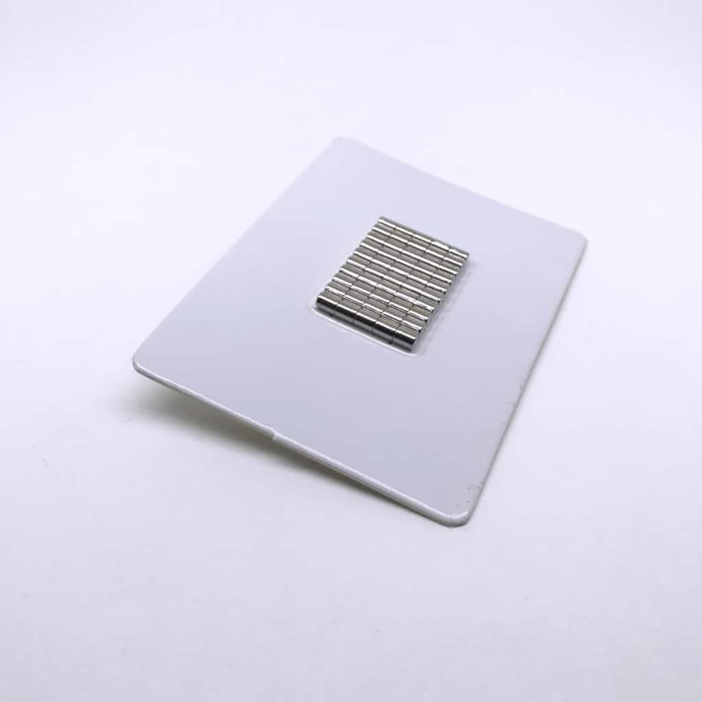 Stabmagnet 1175 vernickelt