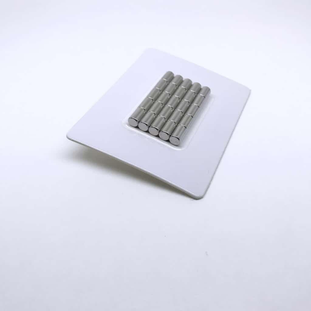 Stabmagnet 1188 vernickelt