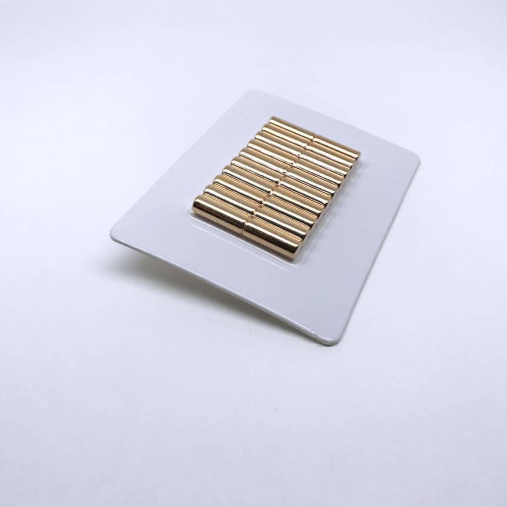 Stabmagnet 1193 vergoldet