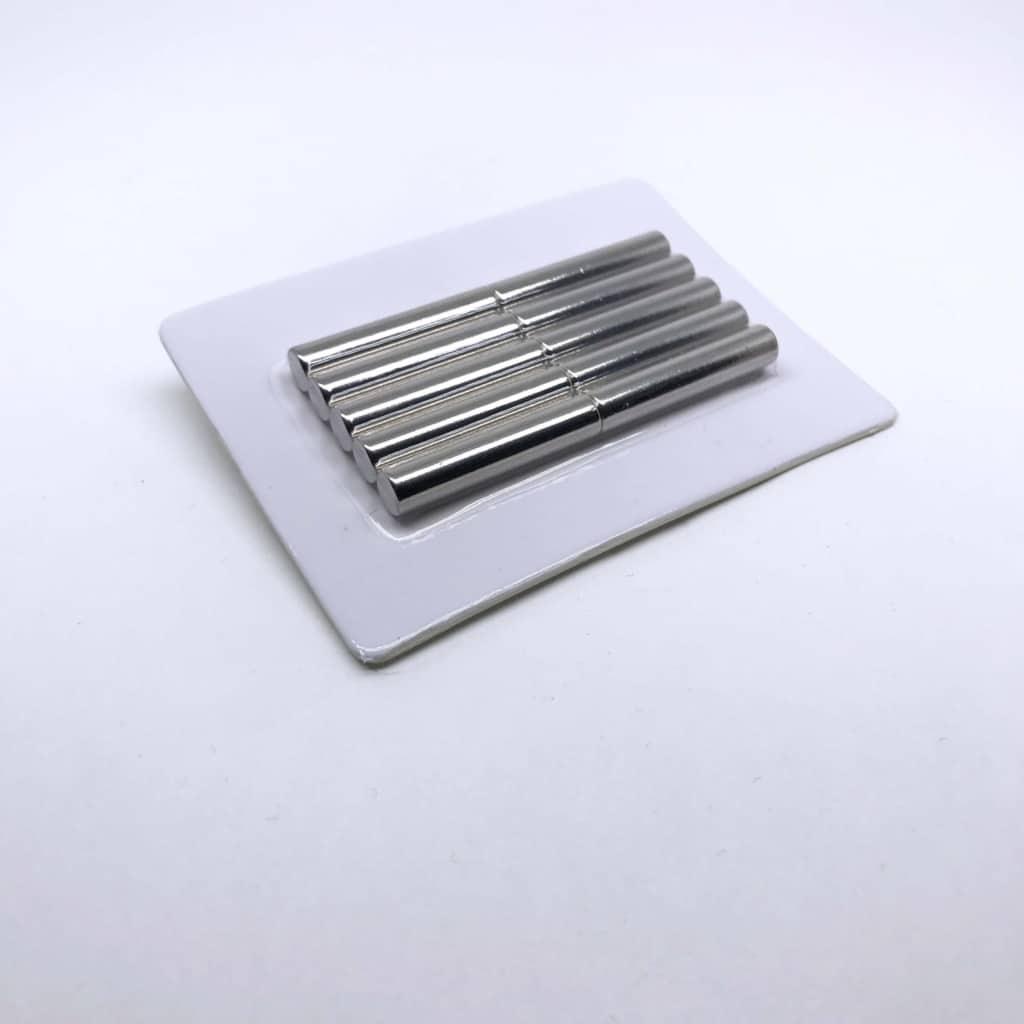 Stabmagnet 1200 vernickelt