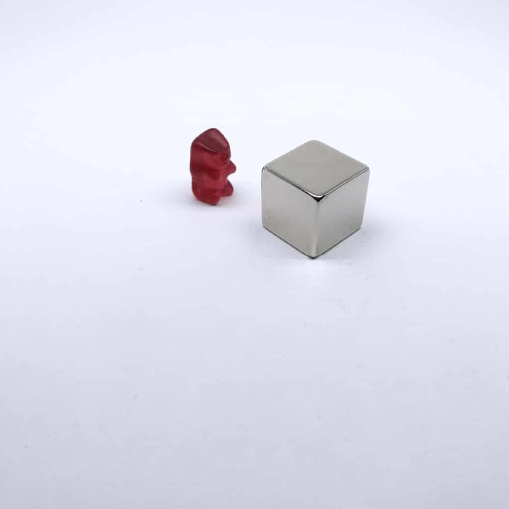 Würfelmagnet 1172 vernickelt, Magnet Bilder